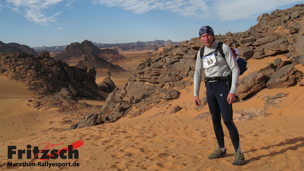 Ultra marathon through the Akakus mountains