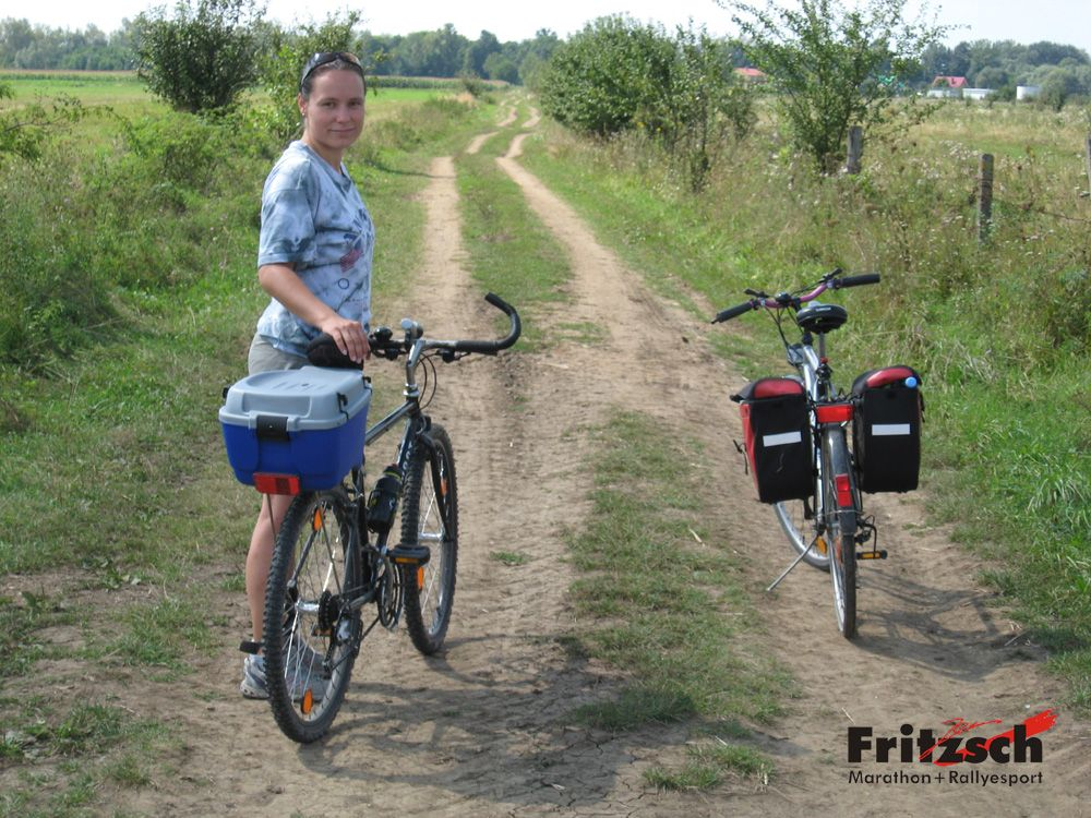 typical polish bike paths