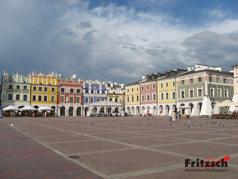 Market Place of Zamosc